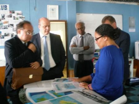 Visit of EU Delegation in Rodrigues (12 - 13 October 2011)